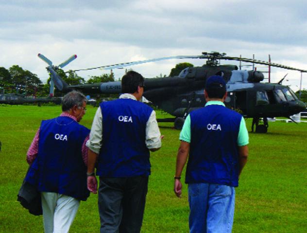Misión de Buenos Oficios de la OEA en Colombia yEcuador (MIB/OEA).