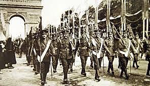 finalizar la Primera Guerra Mundial