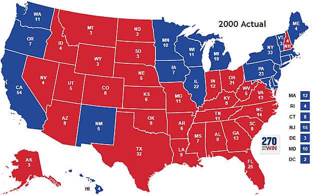 Elección anti-democrática de George Bush