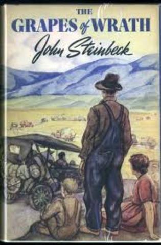 "John Stienbeck's ""The Grapes of Wrath"""