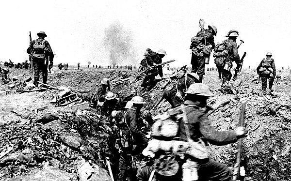 Primera Guerra Mundial - Negociación.