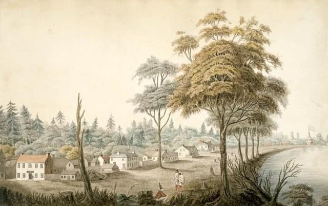 Capital of Upper Canada Burned
