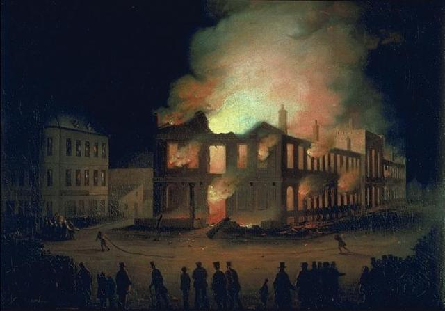 Burning of Newark