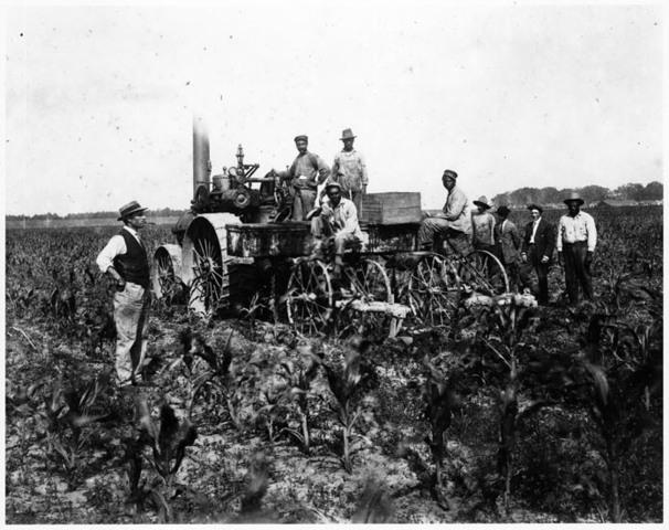 Gasoline-engine Tractor