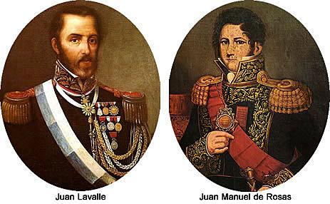 De Lavalle a Rosas.