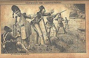 El sitio de Montevideo