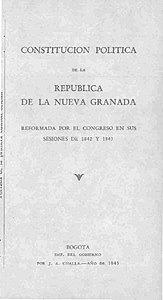 Constitución de la República de Nueva Granada de 1843