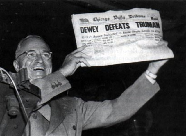 Election of 1948: Split of Democratic Party
