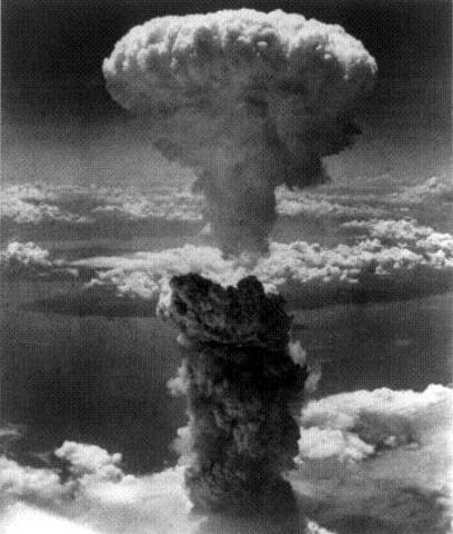"""Fat Man"" Atomic Bomb#2 dropped on Nagasaki"