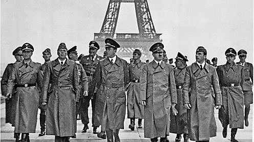 German 'Blitzkrieg' overwhelms Belgium, Holland and France - Fall of France