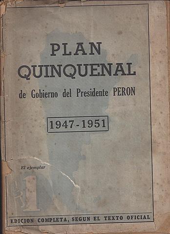 Primer Plan Quinquenal