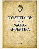 Reforma de la Constitución Nacional