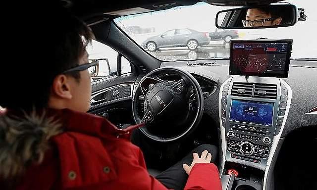 Un ordenador al volante