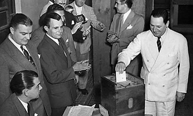Perón es elegido por segunda vez