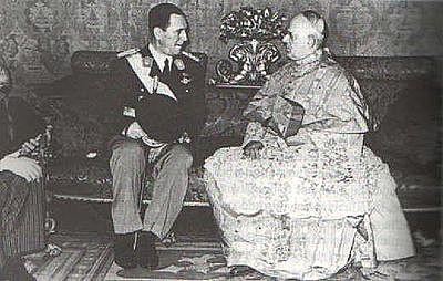 Conflicto entre Perón y la Iglesia