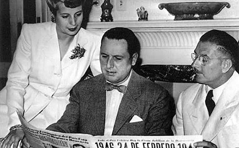 Perón asume como presidente
