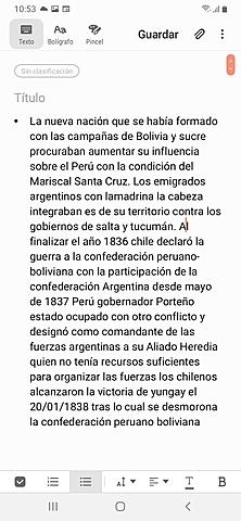 """LOS CONFLICTOS INTERNACIONALES. """"Guerra contra Bolivia"""""""