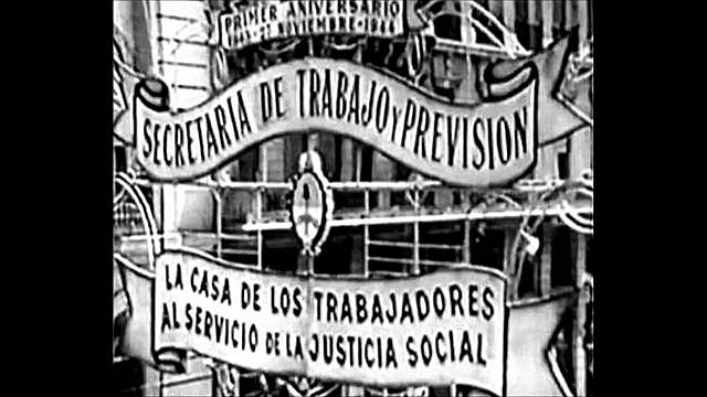 Creación de la Secretaria de Trabajo y Previsión