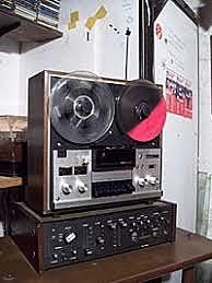 Magnetófono de bobina abierta