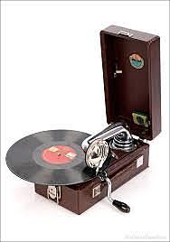 Gramófono Portátil