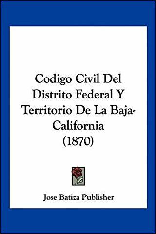 CÓDIGO CIVIL PARA EL D.F.