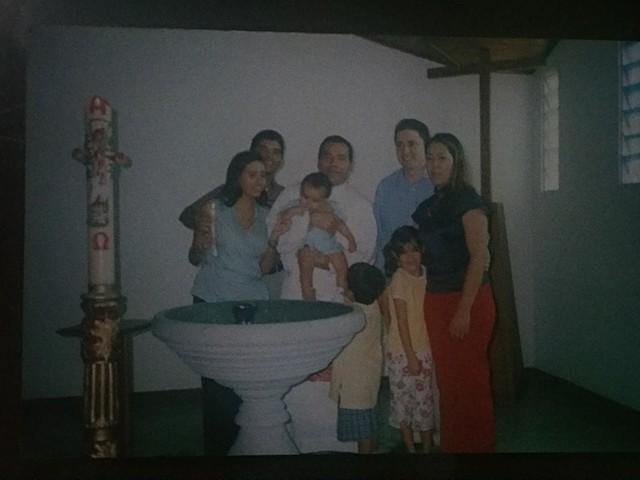 el dia de mi bautizo