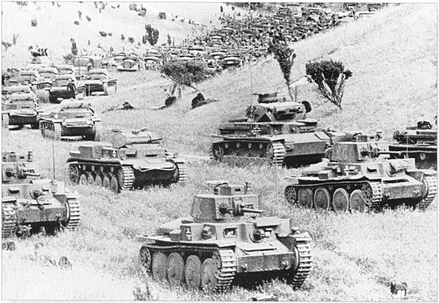 1940 - German Blitzkrieg