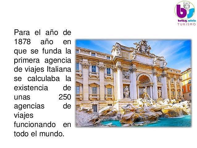 Agencia de viajes italiana