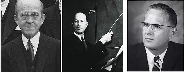 Oswald Theodore Avery, Colin MacLeod y Maclyn McCarty aíslan ADN como material genético