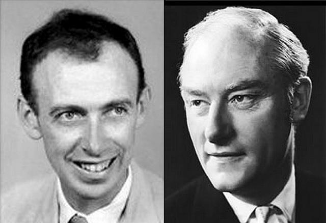 James D. Watson y Francis Crick demuestran la estructura de doble hélice del ADN