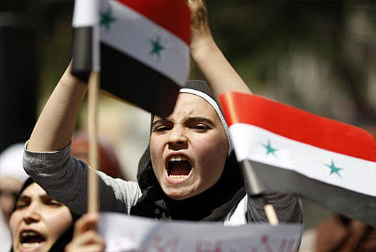 Syrians complain