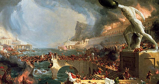 The Fall of the Western Empire of Rome