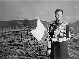 Japanese take out white flag.