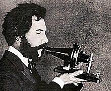 Who created the telephone?