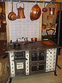 Who invented the stove?