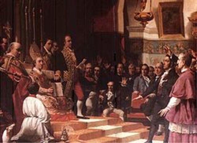 Cortes de Cadiz 1812 constitucion liberal