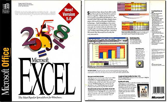 Excel 5.0 (Excel For NT)