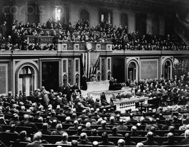US declares war on Germany
