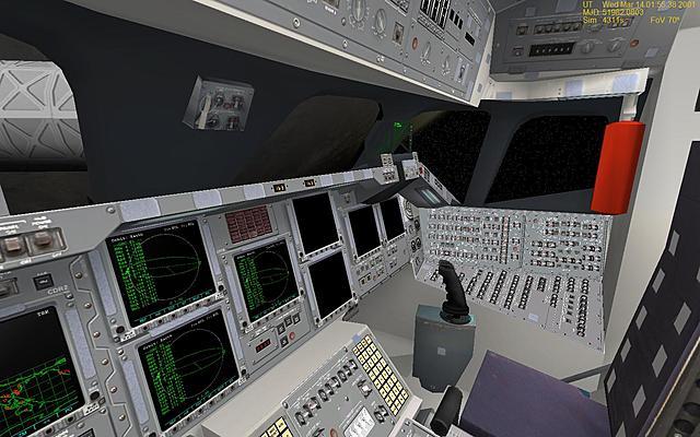 Появление лётных тренажеров, основанных на компьютерной графике