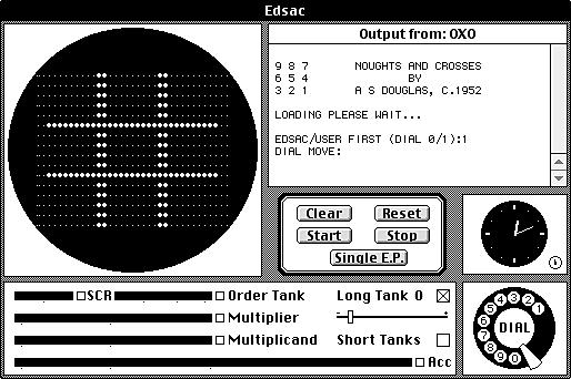 Появление первой наглядной компьютерной игры - OXO, или крестики-нолики.