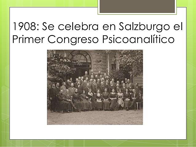 Primer congreso de psicoanálisis