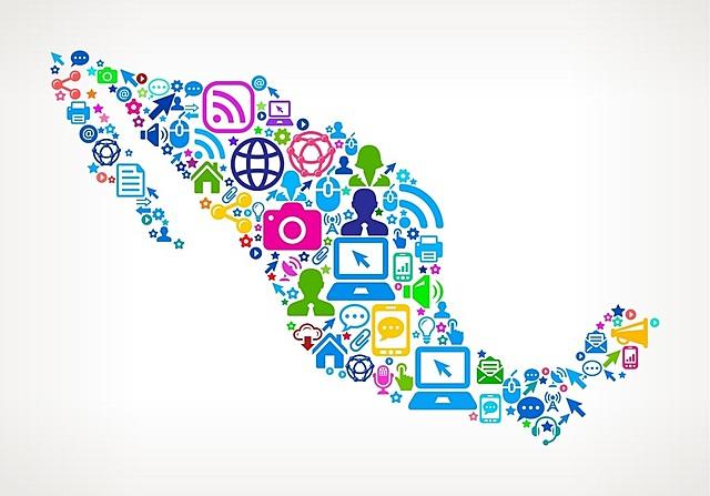 Las redes sociales en mexico.