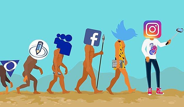 Las tendencias de las redes sociales.