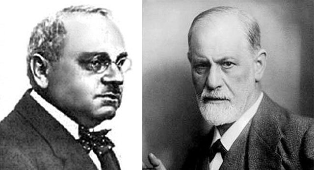 Alfred Adler y Sigmund Freud