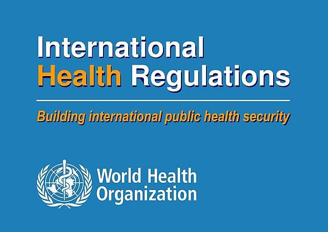 International Health Regulations.