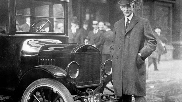 Henry Ford - Líneas de ensamblaje