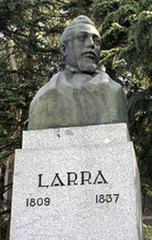 Fallecimiento de Mariano José de Larra