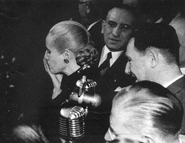 Renuncia de Eva Perón