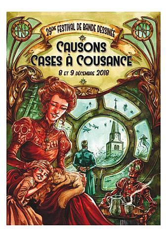 """Festival BD """"Causons cases à Cousance"""""""