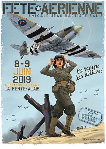 """Meeting aérien """"Le temps des hélices"""" / La Ferté Alais"""